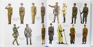 Uniforms of the Swedish army  - part 3 - Artillery, other branches and standard uniforms of the 2oth century