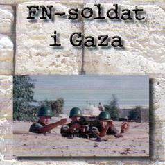 FN-soldat i GAZA