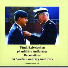 Decorations on military uniforms